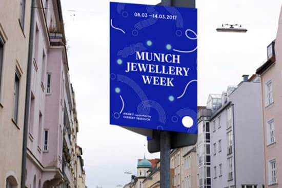 Munich jewellery week 2017.
